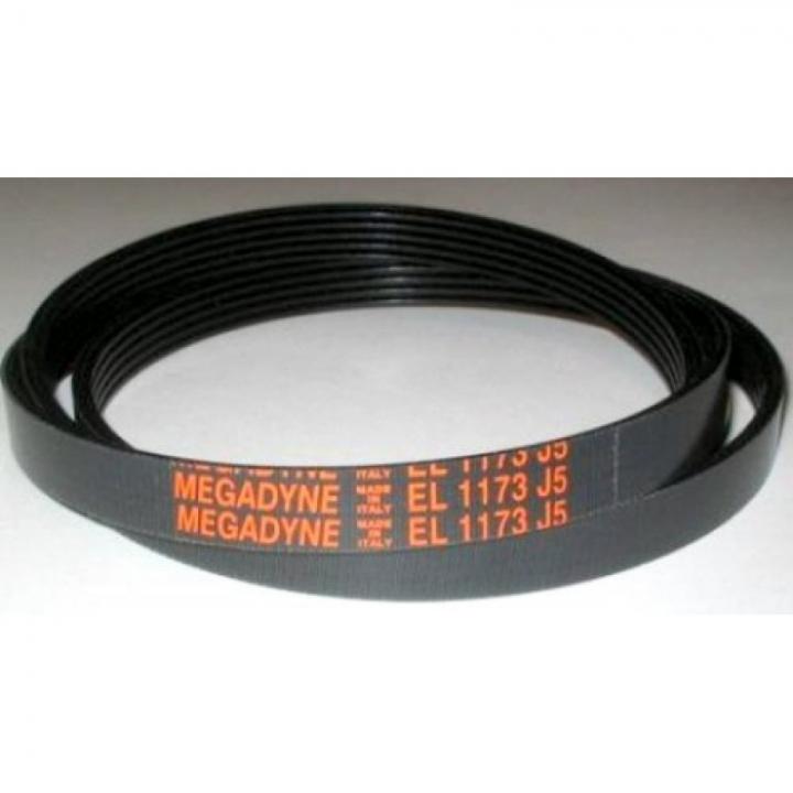 Ремень 1173 J5 EL «MEGADYNE» черный для стиральной машины