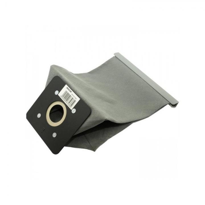 Мешок пылесоса многоразовый №5 (матерчатый) серый, планка