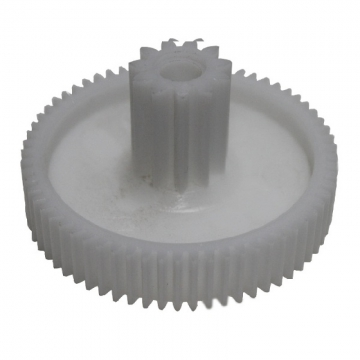 Шестеренка мясорубки Помощница средняя пластм. D=66/20mm, 65/11 зуб. прямой