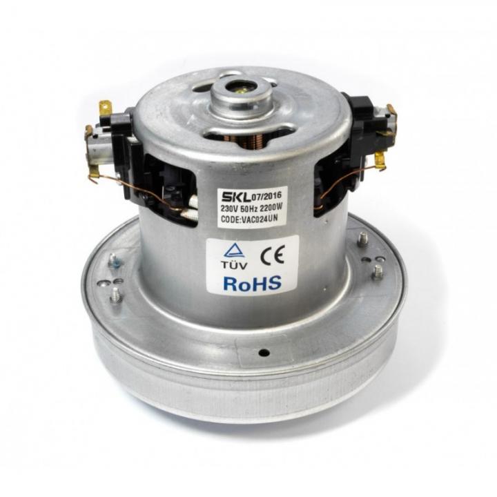 Электродвигатель на пылесос 2200w YDC-24 H120h25Ф135 (124/27/130)